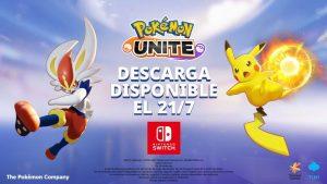 salida de Pokémon Unite